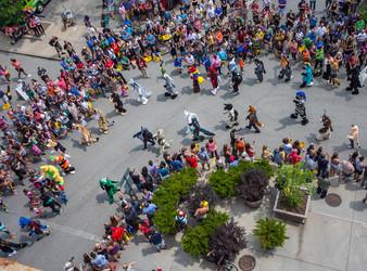 Anthrocon 2015 Parade