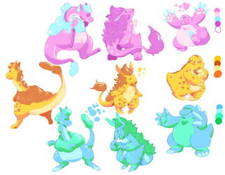 Monster color swaps!