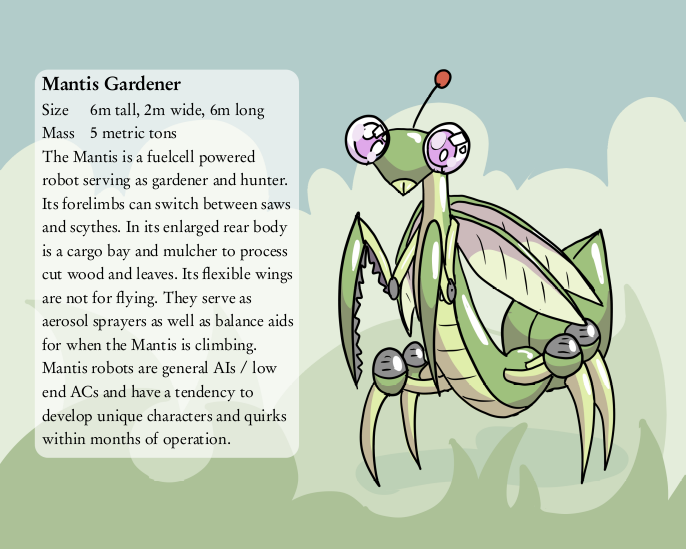 WtV: Faction Asgard: Mantis Gardener