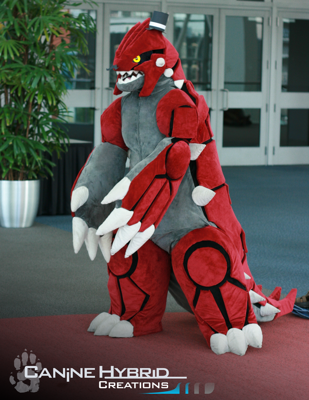 Groudon Costume [2011]