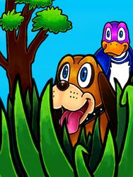 Duck Hunt-colors 3d