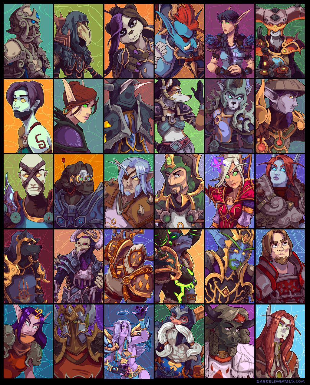 30 Wow Characters (part 4)