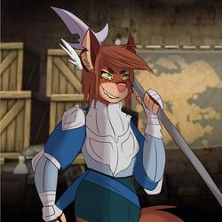 Fire Emblem Unit - Sloane the Pegasus Knight