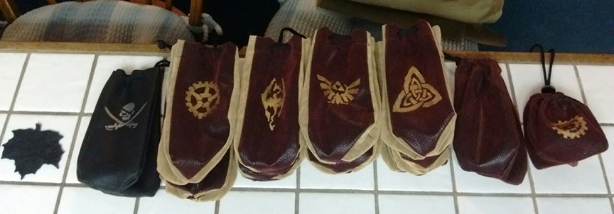 Fabric Dice Bags And leather Dice Bag