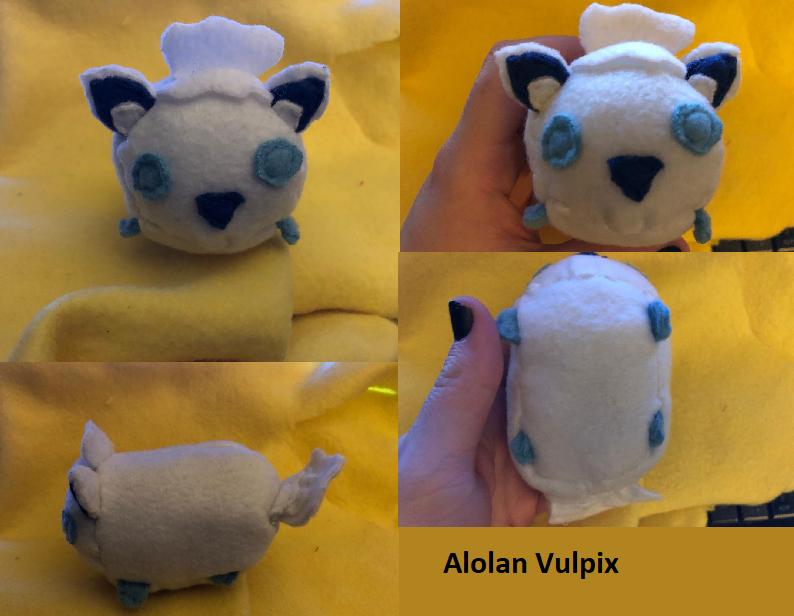 Pokemon Alolan Vulpix Stacking Tsum Plush For Sale