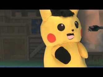 "Mascot Pikachu Fursuiting: ""Squeak"""