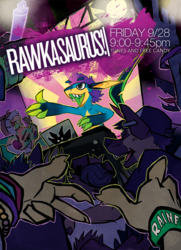 RAWK @ RF2012 event poster