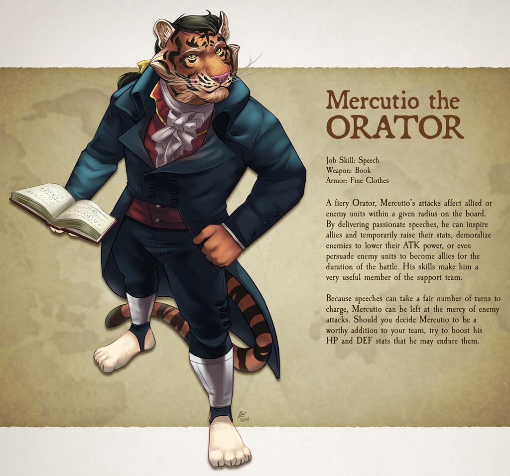 Featured image: Furry Fantasy Tactics - Mercutio