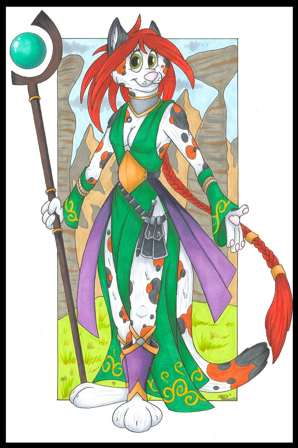Most recent image: Rosalie, Cat Sorceress