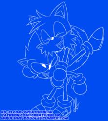 Classic Sonic and Tails Doodle