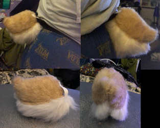 Tan Bunny Tail For Sale