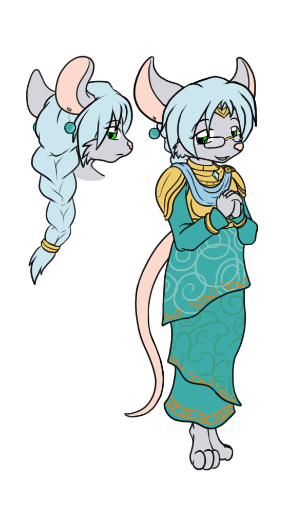 Most recent image: Lillan - Clergy Mouse