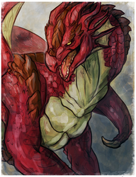 Lord of Scales and Pretty Flames [GIFT]