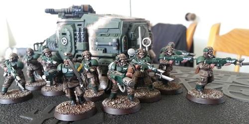 Galleria Imperialis - Veteran Squad