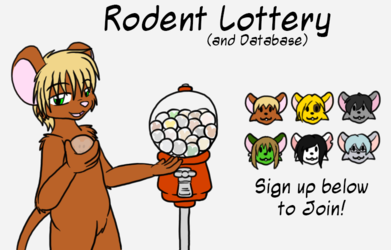 Rodent Lottery Sign-up
