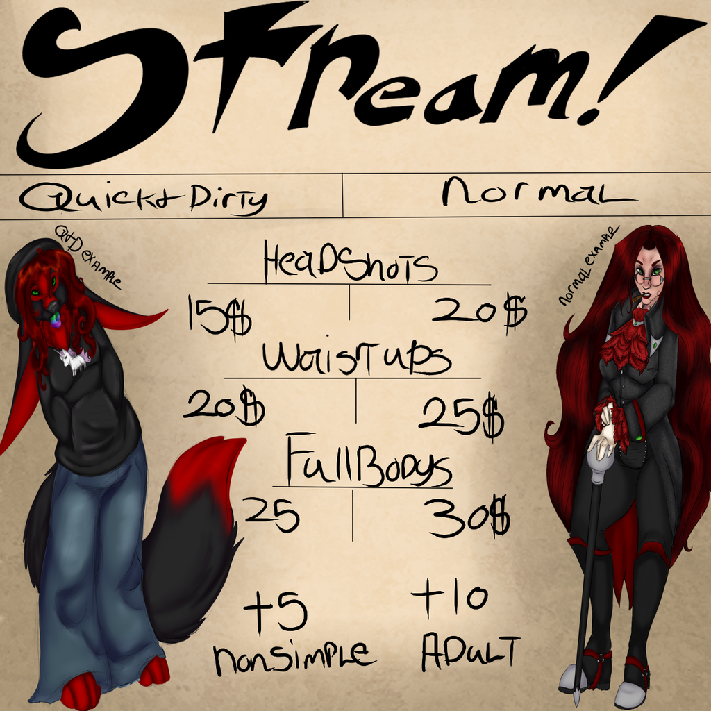 Most recent image: (~ NOW STREAMING ~) Coms open