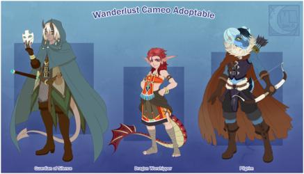 WEBCOMIC- Wanderlust Cameo Adoptable