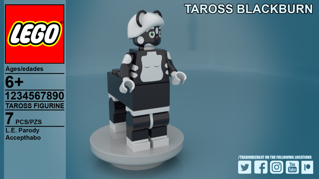 Most recent image: DP19: Taross Blackburn as LEGO