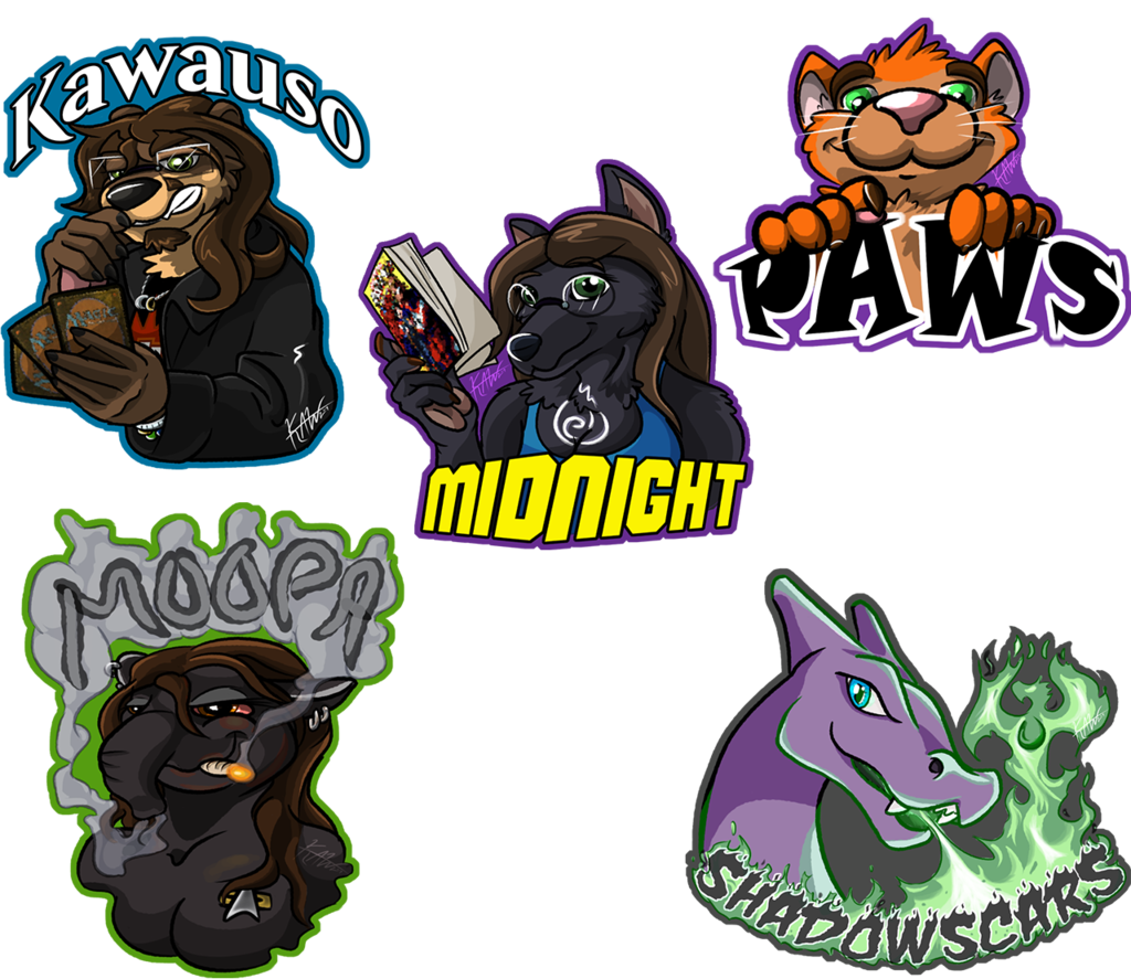 CanFURence 2019 Badges