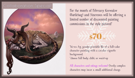 Collaboration commissions - SPECIAL PRICE