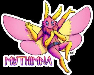 Mythimna Full Body Badge