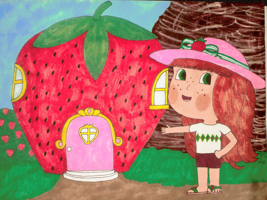 Most recent image: Welcome to Strawberry's place!