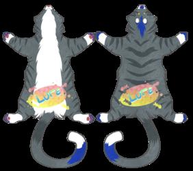 deep-friedlutefisk pelt badge