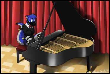Commission: Stage Fright