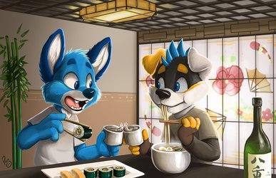 Sushi and Ramen
