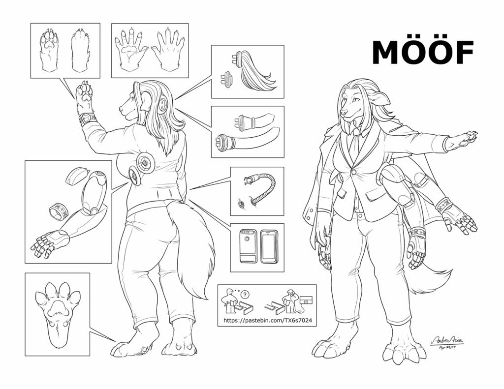 Balina Mahigan (2017) Reference Sheet (Ikea Version)