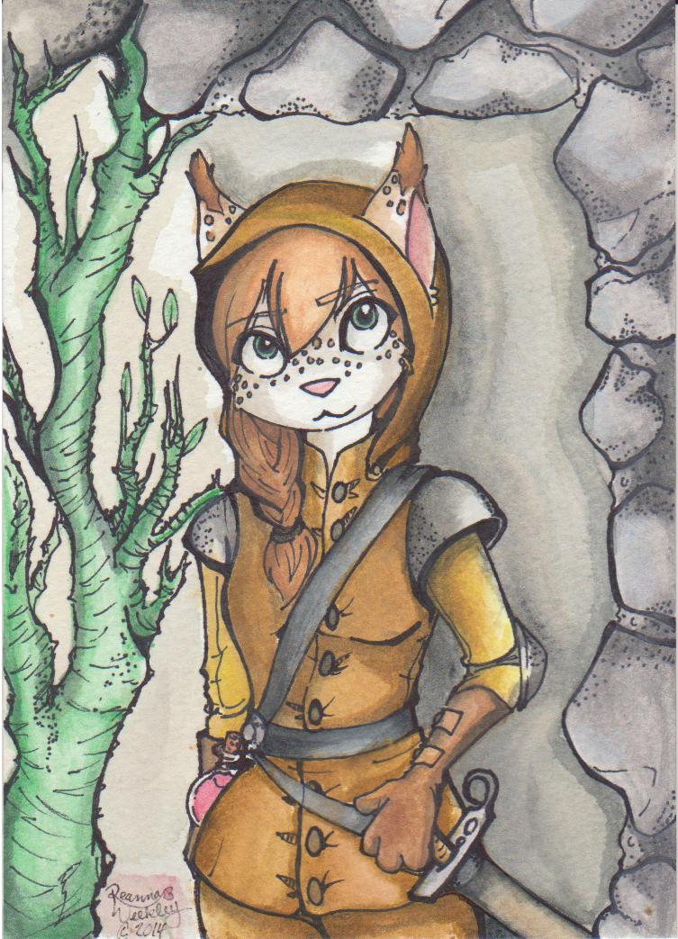 Most recent image: Self Portrait - Watercolors