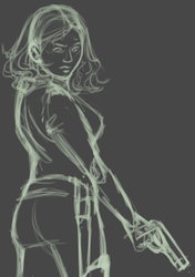 [2015] Black Widow (sketch)