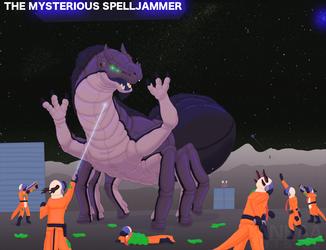 SSSP - The Mysterious Spelljammer