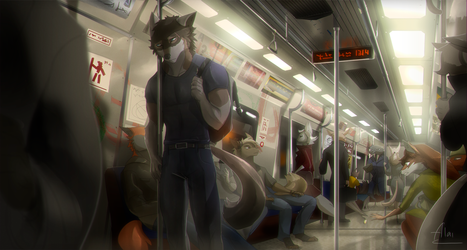 Empty Trip by AlaiCinereo