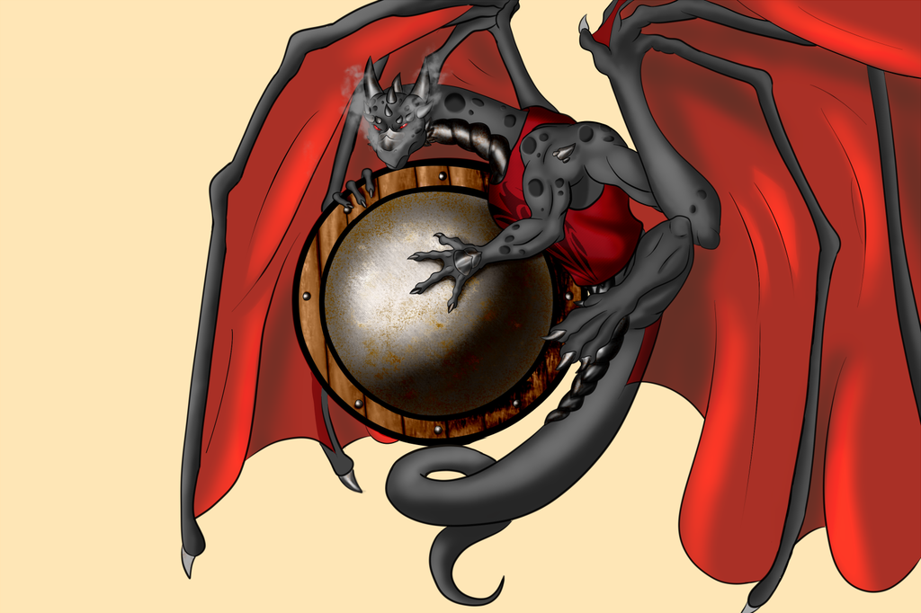 Shield Dragon