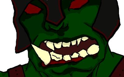 Angury Ogre (WIP, nearly finished)