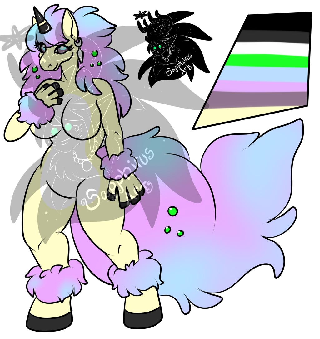 Female Galarian Ponyta 2 +Design+ (SOLD)