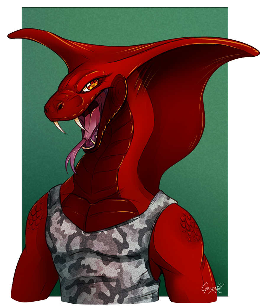 - Dark red Cobra -