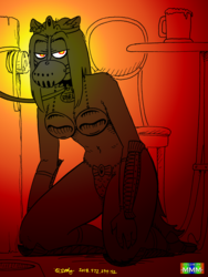The Wolf Queen Seethes (Color by MMM)