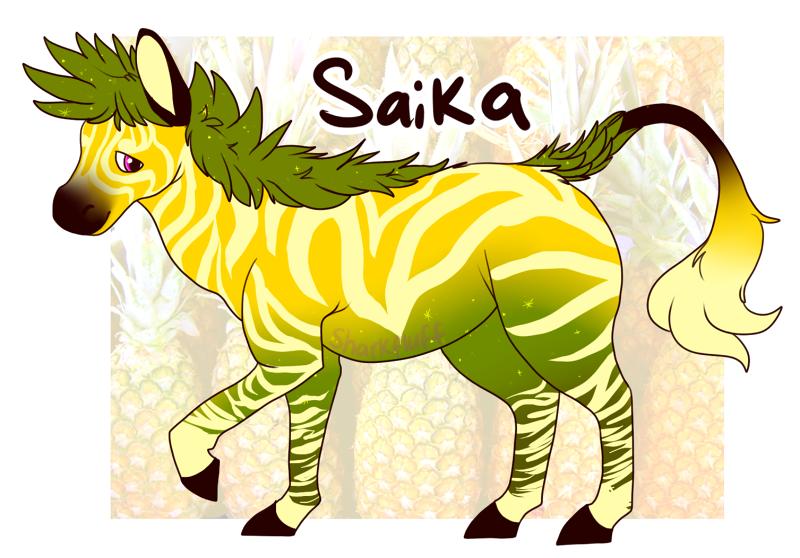 Pineapple Zebra adopt [open]