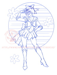 Sailor Velma work in progress