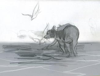 Sketch: Long Water Walk