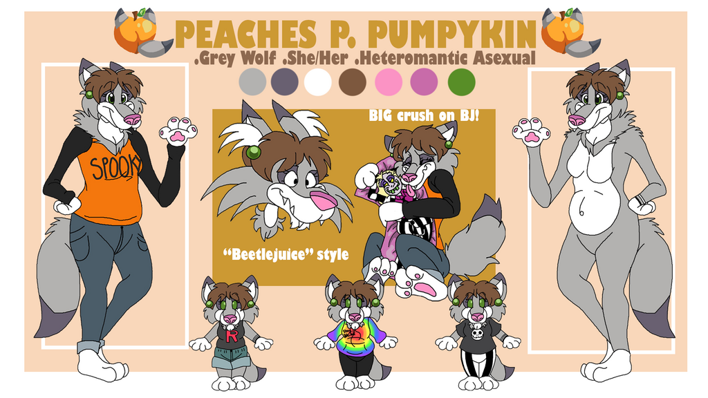 Most recent image: Peaches Reference Sheet 2020