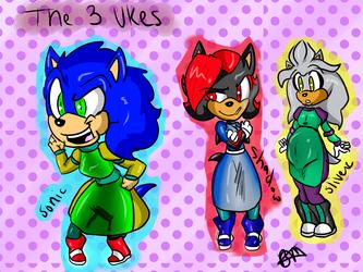 The 3 Ukes