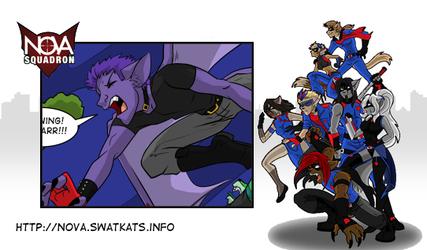 SWAT Kats: Nova Squadron Issue 2 Update!