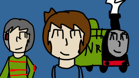 Myself and two of my ocs