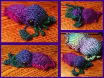 Mini rainbow cuttlefish