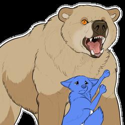 Protective bear