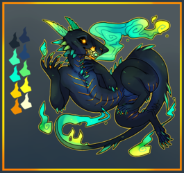 Ghost Fire Monster [CLOSED]