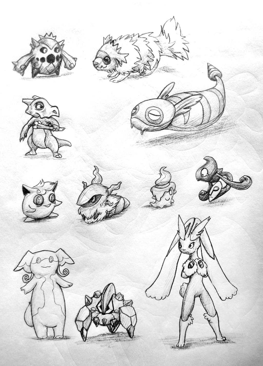 Random Picks From Unova Pokedex